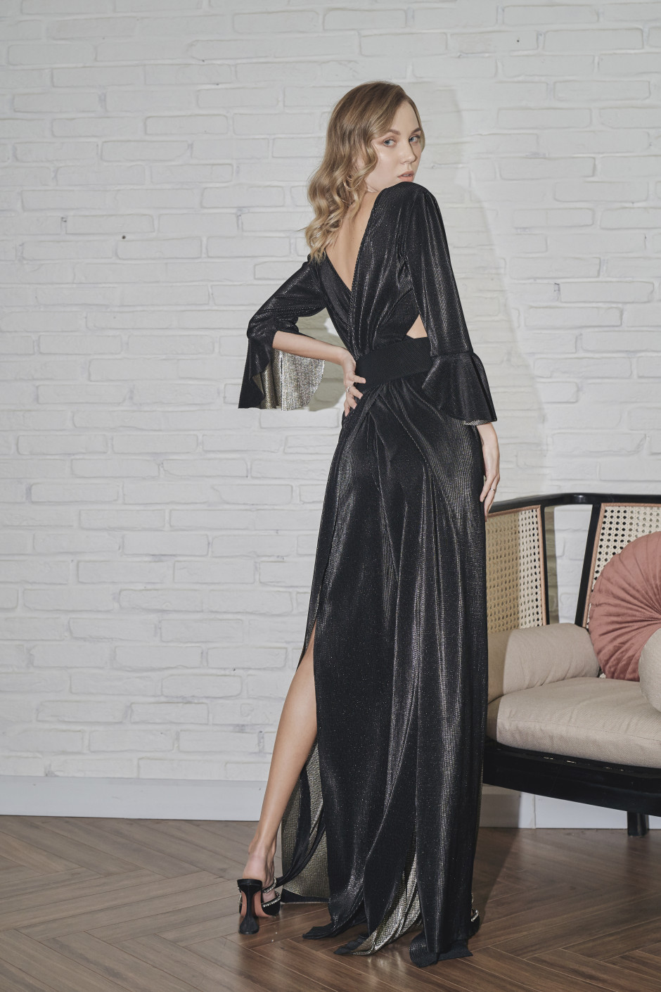 Black Mylene Jumpsuit