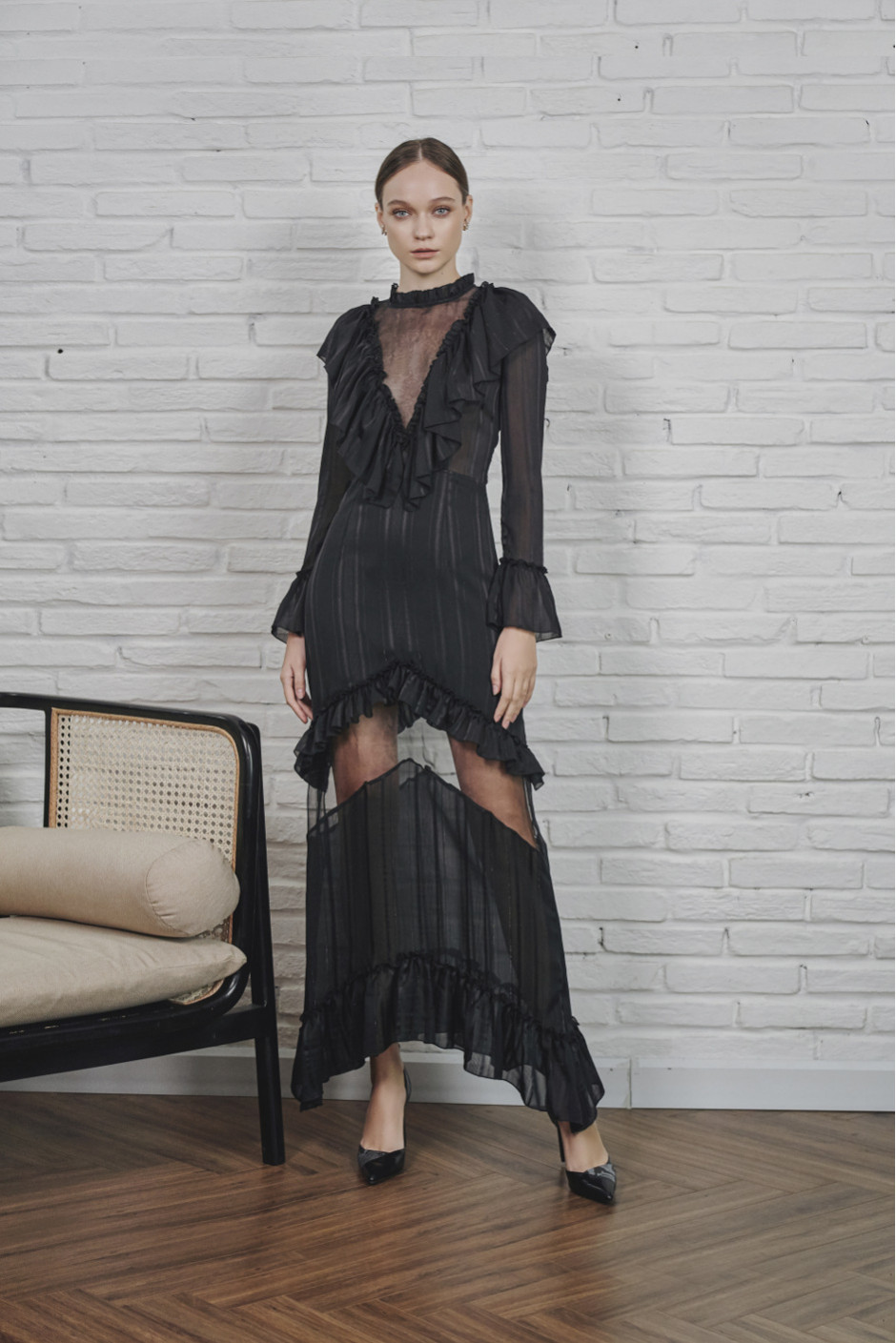 Black Irena dress