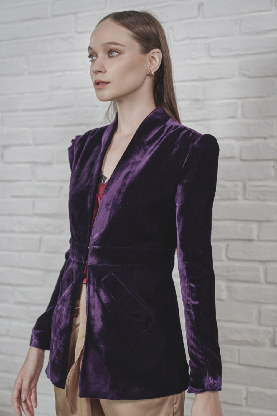 Purple Jana Blazer