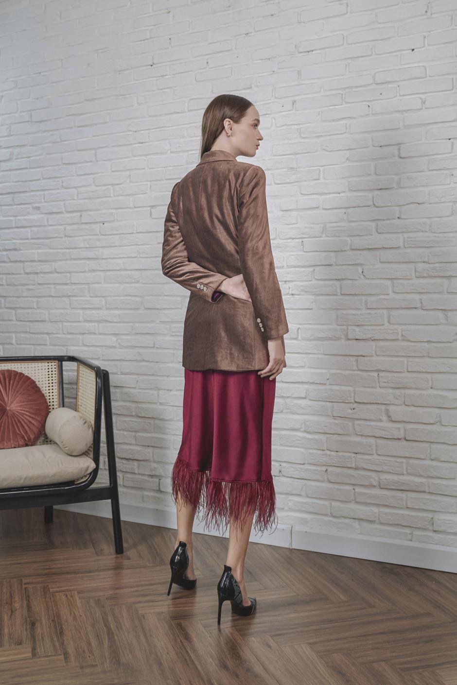 Aubergine -Rose Aria Jacket