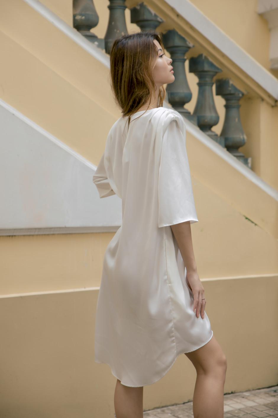 Sophia Dress white