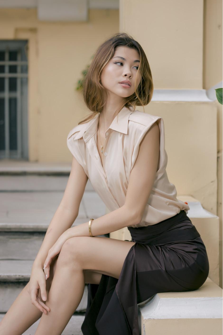 Eva shirt beige