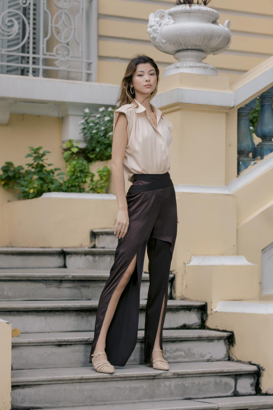 Umber pants