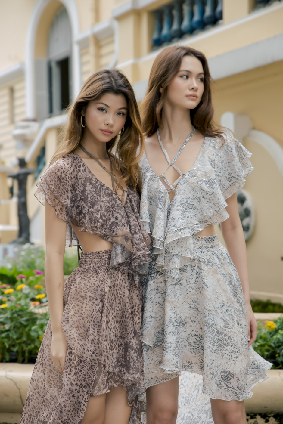 Alina Dress bronze
