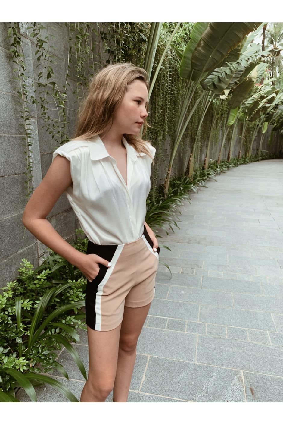 Eva shirt white