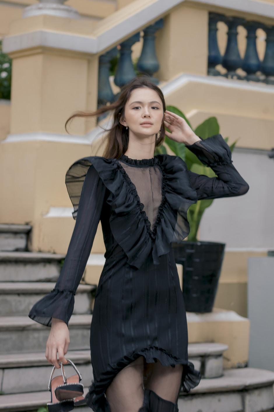 Black Irena dress